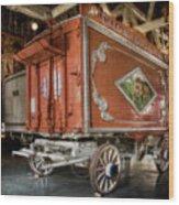 Circus Wagon Wood Print