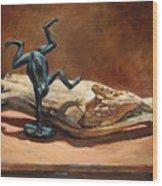 Cirque de Frog Wood Print
