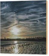 Cirrus Clouds Wood Print