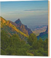 Chiscos Mountain Park Wood Print