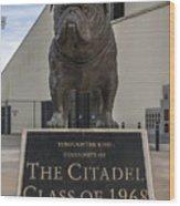 Citadel Bulldog Wood Print