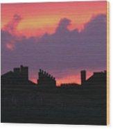 Citadel Hill At Sunrise Wood Print