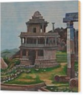 Cithradurga Fort Wood Print
