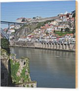 Cities Of Porto And Gaia In Portugal Wood Print