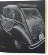 Citroen 2cv Charleston Wood Print