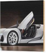 Citroen Supercar Concept Wood Print