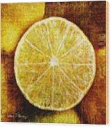 Citrus Wood Print