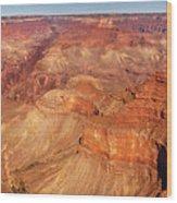 City - Arizona - Grand Canyon - The Great Grand View Wood Print