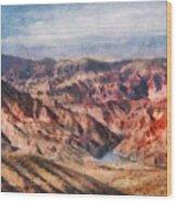 City - Arizona - Grand Hills Wood Print