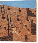 City - Arizona - Pueblo Wood Print