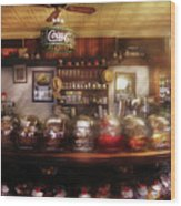 City - Ny 77 Water Street - The Candy Store Wood Print