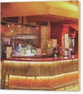City - Vegas - Ny - The City Bar Wood Print