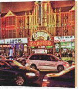 City - Vegas - O'sheas Casino Wood Print