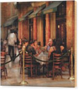 City - Venetian - Dining At The Palazzo Wood Print
