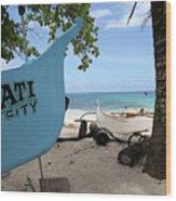 City Beach Wood Print