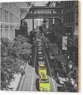 City Bridge Wood Print