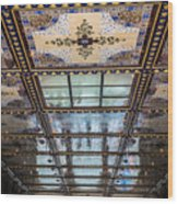 City Ceilings Wood Print