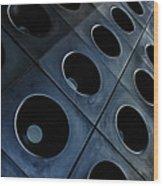 City Center Facade Wood Print