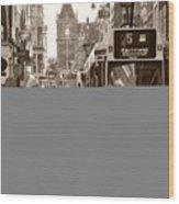 City Commerce  Wood Print