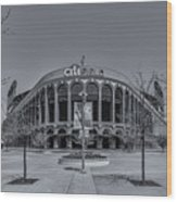 City Field - New York Mets Wood Print