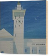 City Hall And Arts Building Bermuda  Wood Print
