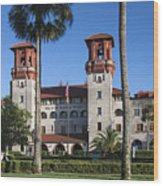 City Hall And Lightner Museum Wood Print