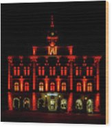 City Hall In Uppsala Wood Print