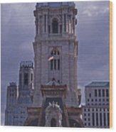 City Hall Philly Wood Print