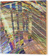 City In Motion 29 Wood Print