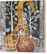 City Jungle Wood Print