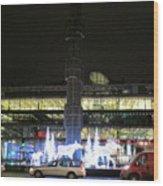City Lights 2 Wood Print