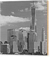 City - Ny - The Shades Of A City Wood Print