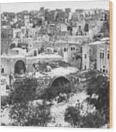 City Of David Bethlehem Wood Print