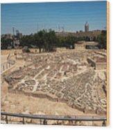 City Of King David Wood Print