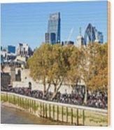 City Of London 14 Wood Print