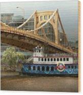 City - Pittsburg Pa - Great Memories Wood Print