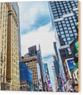 City Sights Nyc Wood Print