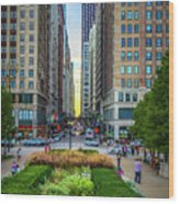 City Surreal Wood Print