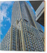 City Tower Wood Print