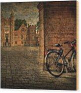City Wheels Wood Print