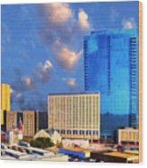 Cityscape 2 Wood Print