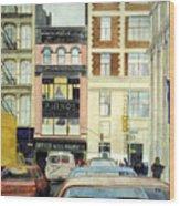 Cityscape Wood Print