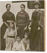 Civil War A Family Affair Wood Print
