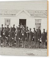 Civil War: Band, 1865 Wood Print