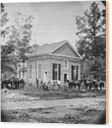 Civil War: Bethel Church Wood Print by Granger