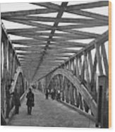 Civil War - Chain Bridge Wood Print