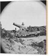 Civil War: Fort Fisher, 1865 Wood Print