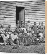 Civil War: Freed Slaves Wood Print
