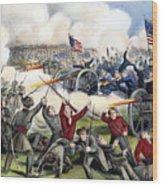 Civil War: Gettysburg, 1863 Wood Print