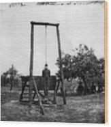 Civil War: Hanging, 1864 Wood Print